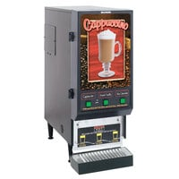 Bunn FMD-3 BLK Fresh Mix Cappuccino / Espresso Machine Cafe Latte Dispenser with 3 Hoppers 120V (Bunn SET00.0197)