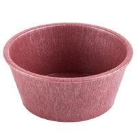 HS Inc. HS1013 4 oz. Raspberry Polyethylene Ramekin - 48/Case