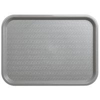 Carlisle CT121623 Cafe 12 inch x 16 inch Gray Standard Plastic Fast Food Tray