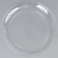WNA Comet DWP75180C 7 1/2 inch Clear Plastic Designerware Plate - 180 / Case