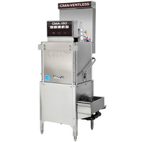 CMA Dishmachines CMA-180-VL Single Rack High Temperature Ventless 3-Door Dishwasher - 208/240V, 3 Phase