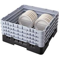 Cambro CRP141012110 Black Full Size PlateSafe Camrack 10 1/2-12 1/2 inch