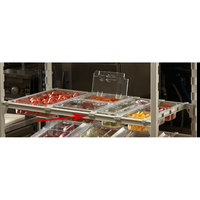 Cambro CSDBS Straight Divider Bar for 24 inch Camshelving Premium Series Shelving