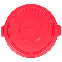 Rubbermaid FG264560RED BRUTE 44 Gallon Red Trash Can Lid