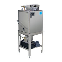 CMA Dishmachines EST-AH-EXT Extended-Door Single Rack Low Temperature, Chemical Sanitizing Straight / Corner Dishwasher - 115V