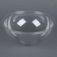 Sabert 12160A50 FreshPack 160 oz. Clear PETE Round Bowl - 50/Case