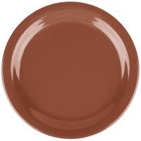 Carlisle 4385437 Bavarian Cream Dayton 7 1/4 inch Melamine Salad Plate - 48/Case