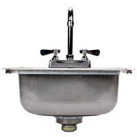 Advance Tabco DI-1-1515 Drop In Stainless Steel Sink 15 inch x 15 inch - 5 1/2 inch Deep