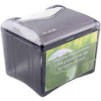 San Jamar H4005TBK Venue Tabletop Fullfold Napkin Dispenser