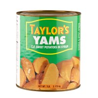 Cut Sweet Potatoes in Syrup - (6) #10 Cans / Case