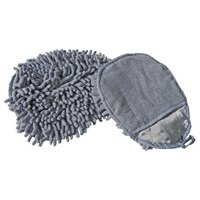 Unger MMIRG Smartcolor Gray Heavy Duty MicroMitt Two Sided Microfiber Cleaning Mitt