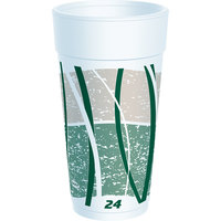 Dart Solo 24LX16E 24 oz. Impulse Foam Cup - 500/Case