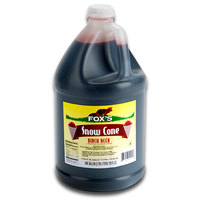 Fox's Birch Beer Snow Cone Syrup - 1 Gallon
