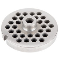 Avantco MG2247 #22 Stainless Steel Grinder Plate for MG22 Meat Grinder - 5/16 inch