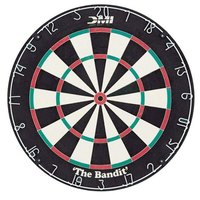 The Bandit 18 inch x 1 1/2 inch Premium Performance Staple-Free Bristle Dartboard