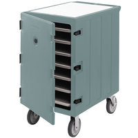Cambro 1826LTC3401 Camcart Slate Blue Mobile Cart for 18 inch x 26 inch Sheet Pans and Trays