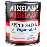 Musselman's #10 Can No Sugar Added Apple Sauce - 6/Case