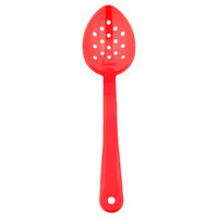 11 inch Red Perforated Serving Spoon