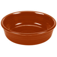 Homer Laughlin 460334 Fiesta Paprika 14.25 oz. Nappy Bowl - 12/Case