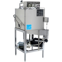 CMA Dishmachines E-AH Single Rack Low Temperature, Chemical Sanitizing Straight Dishwasher - 115V