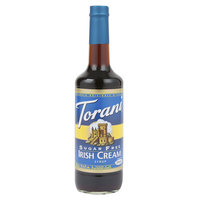Torani 750 mL Sugar Free Irish Cream Flavoring Syrup