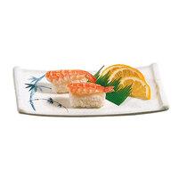 Blue Bamboo Melamine Sashimi Platter – 8 1/2 inch x 4 3/4 inch 12 / Pack