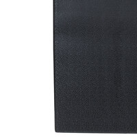 Tredlite Vinyl Pebbled Black Anti-Fatigue Mat 24 inch Wide - 3/8 inch Thick