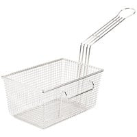 Cecilware V095A 10 1/2 inch x 6 3/4 inch x 5 inch Fryer Basket with Left Hook