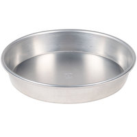 American Metalcraft HA90091.5 Tapered / Nesting Heavy Weight Aluminum Pizza Pan - 9 inch x 1 1/2 inch