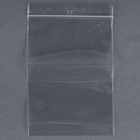 Plastic Food Bag 5 inch x 7 inch Seal Top with Hang Hole 1000 / Box