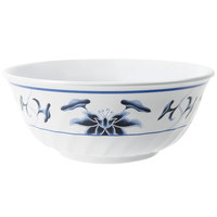 GET M-606-B Water Lily 24 oz. Fluted Melamine Bowl - 12 / Pack