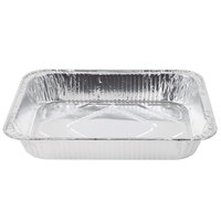 Choice 1/2 Size Foil Steam Table Pan Medium Depth - 2 3/16 inch Deep - 100 / Case