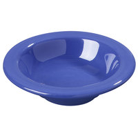 Carlisle 3304214 4 3/4 inch Ocean Blue Sierrus 4.5 oz. Rimmed Fruit Bowl - 48 /Case