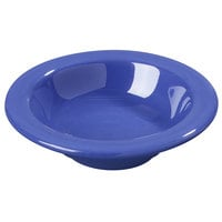 Carlisle 3304214 4 3/4 inch Ocean Blue Sierrus 4.5 oz. Rimmed Fruit Bowl - 48/Case