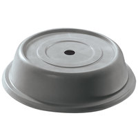 Cambro 120VS191 Versa 12 inch Granite Gray Camcover Round Plate Cover - 12/Case