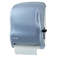San Jamar T1100TBL Classic Lever Roll Towel Dispenser - Arctic Blue