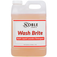 Noble Chemical 2.5 Gallon Wash Brite Laundry Detergent - 2 / Case