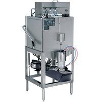 CMA Dishmachines AH-2 Single Rack Low Temperature, Chemical Sanitizing Straight Dishwasher - 115V