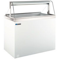 Master-Bilt DD-88CG 91 inch Curved Glass Ice Cream Dipping Cabinet