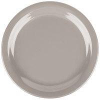 Carlisle 4385431 Truffle Dayton 7 1/4 inch Melamine Salad Plate - 48/Case