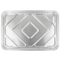 D&W Fine Pack B93 25 3/4 inch x 17 3/4 inch Full Foil Sheet Cake Pan - 25/Case