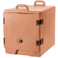 Cambro 300MPC157 Coffee Beige Camcarrier Pan Carrier with Handles - Front Load for 12 inch x 20 inch Food Pans
