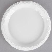Genpak 70600 Aristocrat 6 inch White Premium Plastic Plate   - 1000/Case