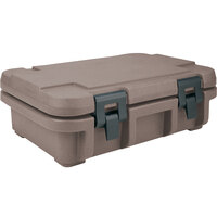 Cambro UPC140194 Granite Sand Camcarrier Ultra Pan Carrier - Top Load for 12 inch x 20 inch Food Pan