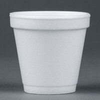 Dart Solo 4J4 4 oz. Customizable White Foam Cup 1000/Case
