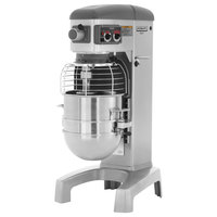Hobart Legacy HL400-4 40 Qt. Commercial Planetary Floor Mixer with Standard Accessories - 240V, 1 1/2 hp