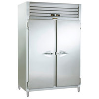 Traulsen RCV232WUT-FHS Stainless Steel 51.6 Cu. Ft. Two Section Reach In Convertible Freezer / Refrigerator - Specification Line