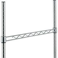 Metro H114C Chrome Hanger Rail 14 inch