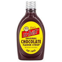 Fox's U-Bet Chocolate Syrup 22 oz. Squeeze Bottle