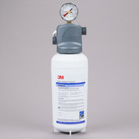 3M Cuno ICE140-S Single Cartridge Water Filtration System - 0.2 Micron Rating and 2.1 GPM